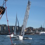 Vid Volvo Ocean Race stoppet 2010